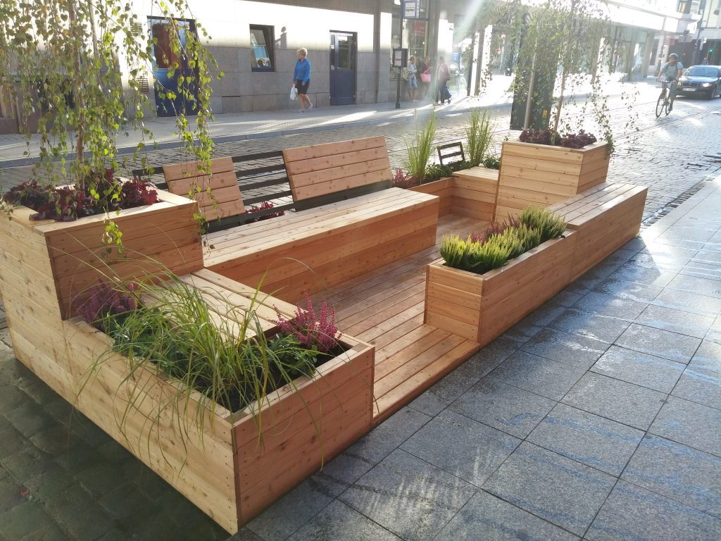 Seating parklet